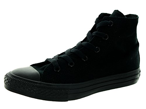 Converse Chuck Taylor all star sp high 3S121, Baskets Mode Enfant Black Monoch