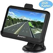 GPS Navi Navigation für Auto LKW PKW KFZ Aonerex 5 Zoll Touchscreen 8GB 256MB Navigationssystem Lebenslang Kostenloses Karte