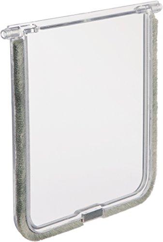 Trixie, Porticina basculante di ricambio, 14,7x 15,8cm, colore bianco