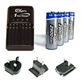 Best Aa Batteries For Digital Cameras - Ex-Pro 2900mAh Rechargeable AA Batteries and Charger Kit Review