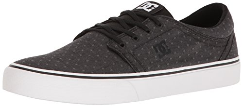 DC Shoes Trase TX Se, Baskets Mode Homme Black/Polka Dot