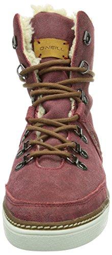 O'Neill Dudette Damen Hohe Sneakers Rot (F51 - Barn Red)