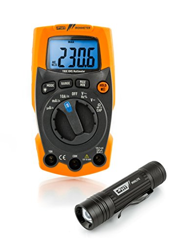 HT-Instruments 1010245 Extrem robustes Multimeter inklusiv LED Lampe -