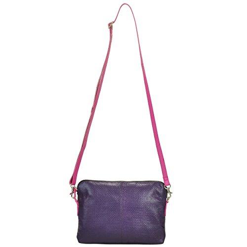 AzraJamil, Borsa a tracolla donna Purple And Pink