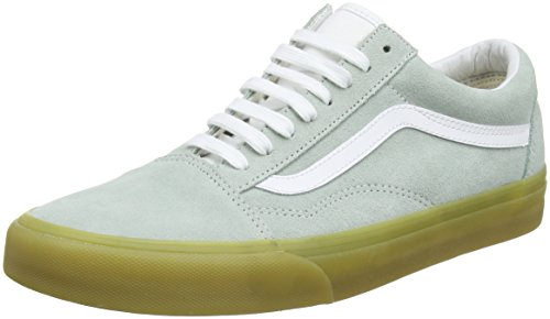 Verde 45 EU Vans Old Skool Sneaker Unisex Adulto Double Light Gum h0r