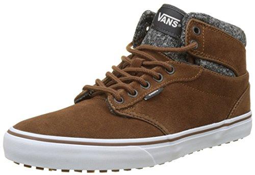 Vans Herren Atwood Hi Mte Sneaker, Braun (Mte/ Emperador/Asphalt), 42 EU
