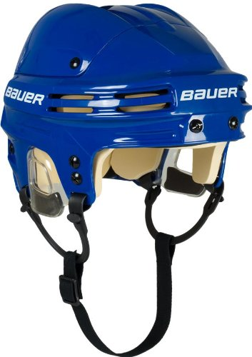 Bauer 4500 - Casco de hockey para adulto azul azul Talla:large