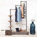 GIGA Industrie Design Garderobe Flurgarderobe Aufhängemöglichkeit Kleiderständer