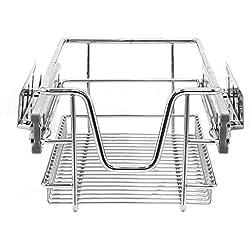 KuKoo Cestas Muebles de Cocina, deslizantes, Cierre Suave, para armarios de 300 mm de Ancho, cajones de Almacenamiento