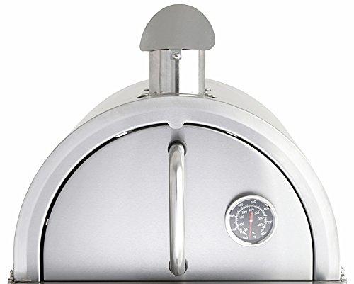 Pizzaofen-Edelstahlbackhaube für MULTI-KULTI - Grill Pizzaofen Für