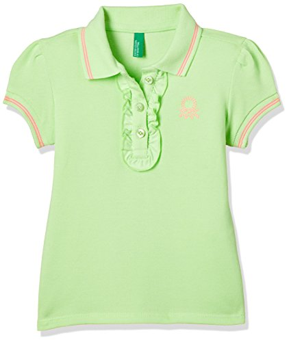 United Colors of Benetton Baby Girl's Plain Regular Fit Polo