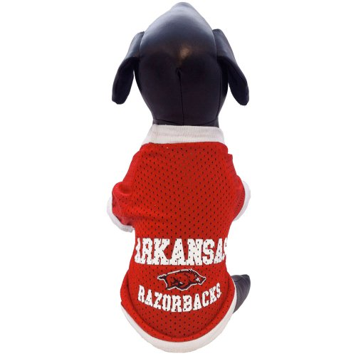 All Star Dogs NCAA Arkansas Razorbacks Athletic Mesh Dog Jersey (Teamfarbe, - Winziger Hunde Kostüm
