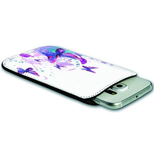 Sleeve Style Handy Tasche Case Schutz Hülle Schale Motiv Etui für Apple iPhone 6 / 6S - Sleeve UBS14 Design12 Design 1