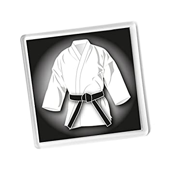 Negro cintur n blanco GI...