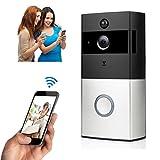 Bescita Türklingel, WIFI Video Smart Türklingel 720 P HD Überwachungskamera Nachtsicht Türklingel Bescita