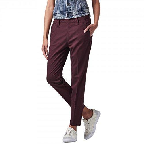 Pantaloni chino G-Star Dk Fig prugna 91953F viola 26 W/32 L
