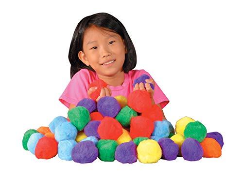 Chenille Kraft ac16654di farbigen Fluff Bälle, 2-3/10,2cm Größe, 7,6cm Höhe, 25,4cm Breite, 27,9cm Länge (36Stück) (Bingo-karten Für Kinder)