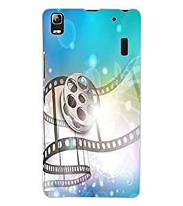ColourCraft Musical Design Back Case Cover for LENOVO A7000 TURBO