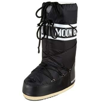 Moon Boot by Tecnica Nylon 14004400-001-A Unisex Winterstiefel, black, Gr. 39-41