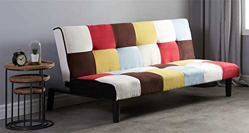 Groovy Birlea Rainbow Sofa Bed 3 Seater Settee Offer Of The Day Pdpeps Interior Chair Design Pdpepsorg