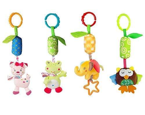 Leedemore-Infant Baby Rattle Toys, Kids Stroller Hanging Bell 1