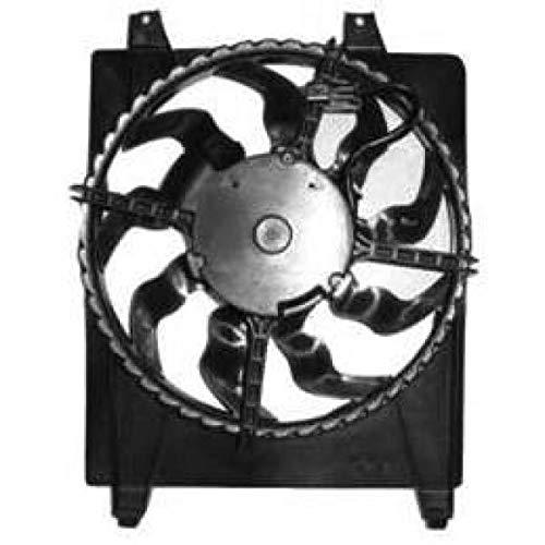 PIECES AUTO SERVICES Ventilateur condenseur de climatisation Hyundai Santa Fé 2 (CM) de 06 à 10 - OEM : 977302B100