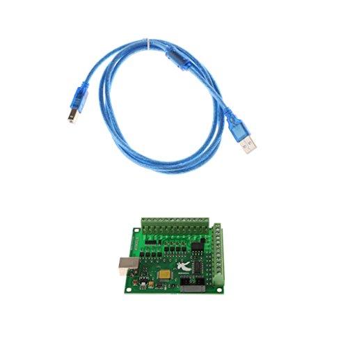 MagiDeal CNC MACH3 USB 4 Axis 100KHz Breakout Board