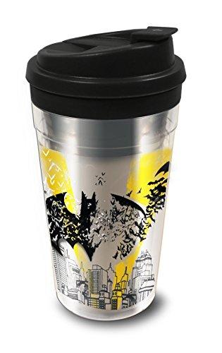 Batman Reflexe Kaffeetasse, silber, 445ml