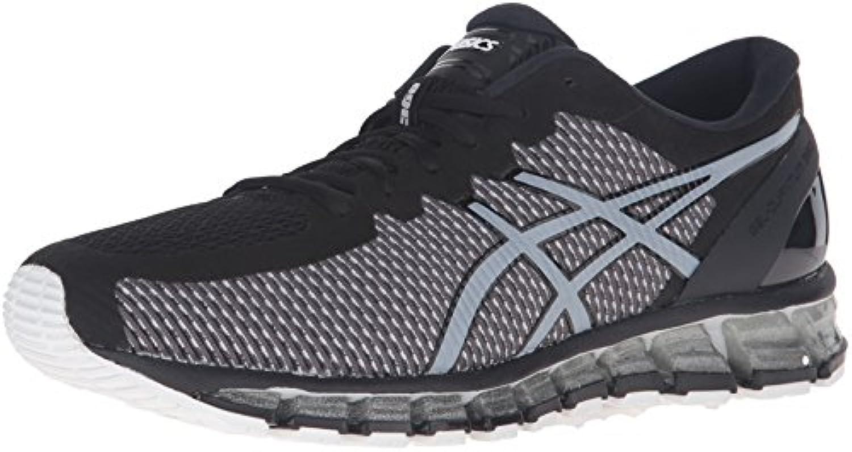 ASICS Men's Gel Quantum 360 CM running Shoe  Onyx/White/Silver  11 M US