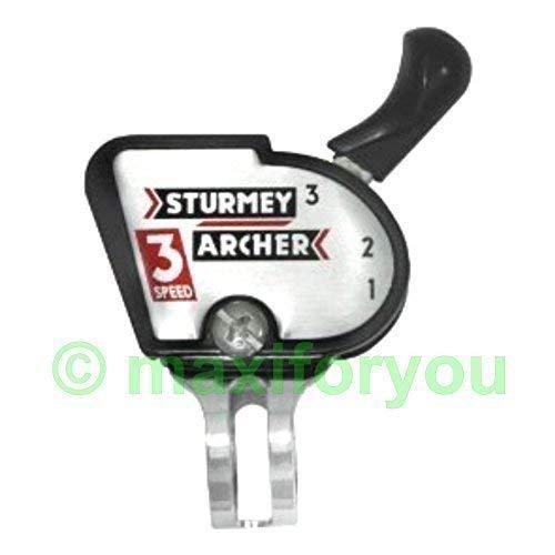 Sturmey Archer Klickschalter Schalthebel 3-Gang Fahrradschaltung - 01080206