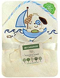 BB-CAMARADE - Cape de bain bébé enfant, sortie de bain, serviette bébé à capuche, peignoir.
