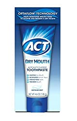 3 Pack Act Dry Mouth Anticavity Fluoride Toothpaste Soothing Mint 4.6 Oz Each