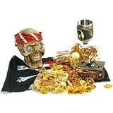Piraten Gold-Münzen, 144 Stück