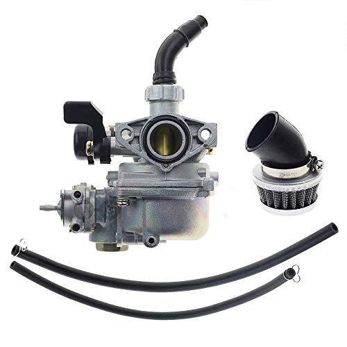 VacFit Vergaser & Luftfilter für Honda ATC70 ATC90 ATC110 ATC125M TRX125 FourTrax 125 Motorrad-Vergaser