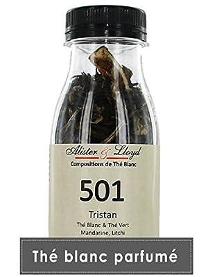 Alister & Lloyd Tristan - Thé Blanc et Vert Aromatisé Mandarine Litchi - 55g