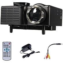 Centro de Información de LCD UC28 Mini Pico proyector de cine en casa Digital Theater LED proyector VGA / USB / SD / AV / HDMI Proyector Multimedia Regard