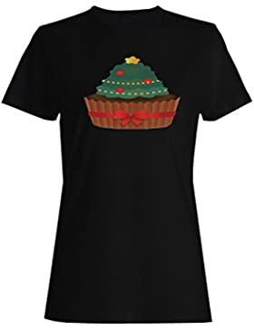 FELIZ NAVIDAD XMAS FUNNY NOVEDAD NUEVO camiseta de las mujeres -l42f