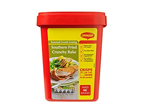 MAGGI Southern Fried Crunchy Bake Crumb Coating, 1 kg