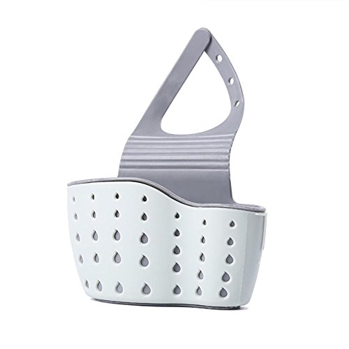 Esponja Soporte, organizador Sink Drain Rack Basket