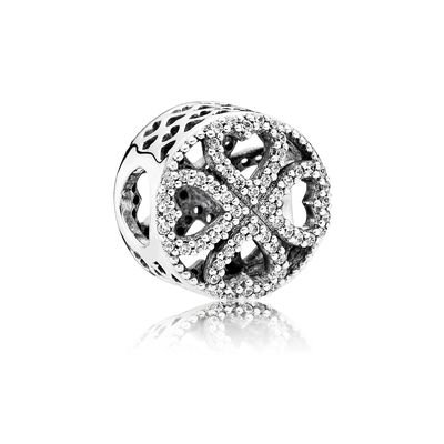 Pandora - petali d'amore charm pandora 791808cz
