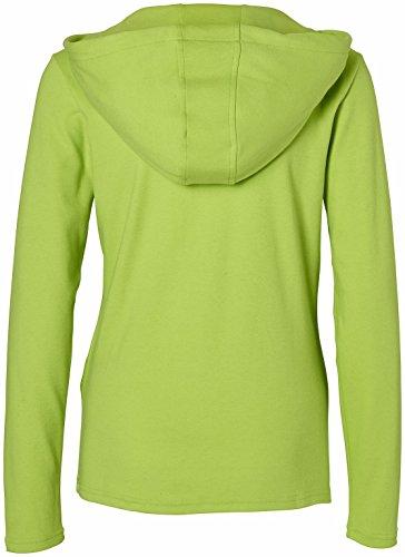 erima Damen Longsleeve Green Concept Lemon Green Melange