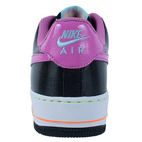 Nike Air Force 1 '06 (GS) Mädchen Sneakers black-red violet-glacier ice-white (314219-009)