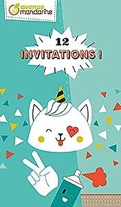 Avenue Mandarine-Tarjetas de invitación, Urban, co191C, Sujetadores