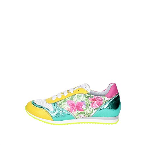 Ciao Bimbi 13588.10 Sneakers Bambina Pelle/tessuto Giallo Giallo 36