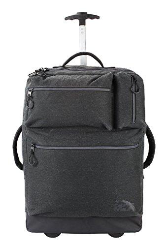 Cabin Max Cambridge 55 x 40 x 20 cm maleta carrito de equipaje portátil – aprobada para vuelos (Gris oscuro)