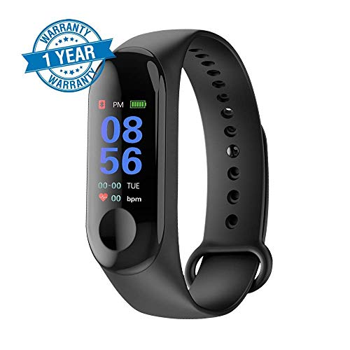 Anti Gravity M3 Band Bluetooth Health Wrist Smart Band Watch Monitor/Smart Bracelet/Health Bracelet/Smart Watch for Mens/Activity Tracker/Bracelet Watch for Men/Smart Fitness Band