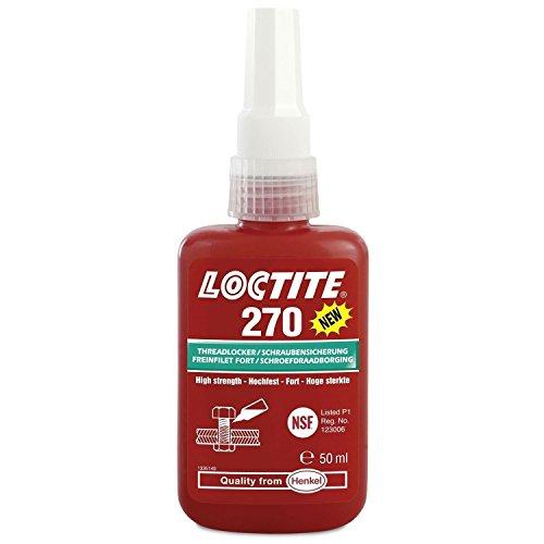 50 ml Loctite 270 Fixation de vis jusqu'à M20 - Haute Lave-vaisselle - Vert - L'original