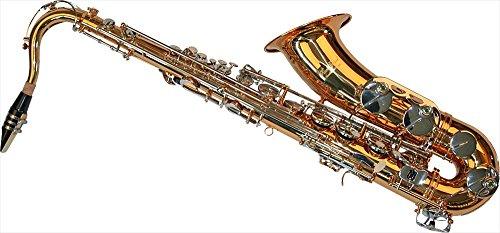 Karl Glaser Tenor Saxophon, gold/chrom, mit Koffer