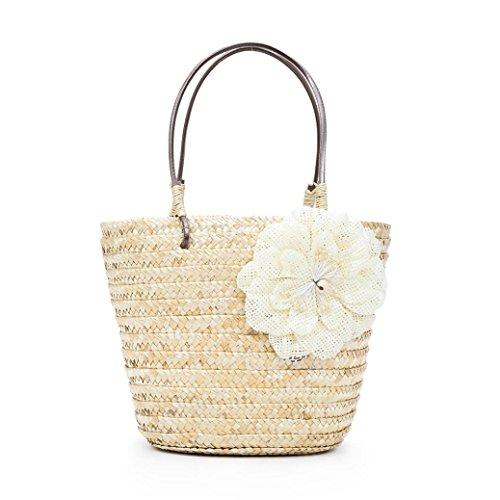 Damen Handtaschen FORH Vintage Tote Schultertasche Frauen Fliege Crossbody Taschen Einfache Weave...