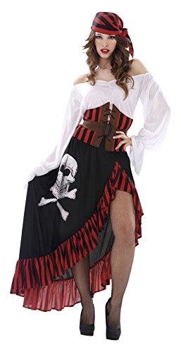Imagen de my other me  disfraz de pirata bandana para mujer, s viving costumes 203657